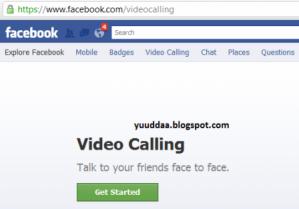 Tips Mudah Mengaktifkan Video Call Facebook 2011